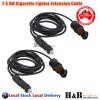 2 X 3M 12v Cigarette lighter Extension Socket Adapter Socket Charger Lead
