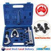 Pro 7 Dies Double Flaring Tube Pipe Flare Tool Kit Deburrer Brake Lines