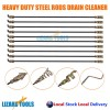 Heavy Duty High Tensile Steel Drain Cleaner Root Cutter Swivel Handle Sale