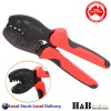 Solar Crimper MC4 PV Crimp Crimping Pliers Tool Ratcheting Connector 2.5/4/6mm