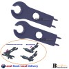 2X MC4 Connector Spanners Disconnect Solar Tools High Strength Industry plastic