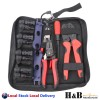 MC4 Solar Crimp Tool Kit Crimping Connector Spanner Crimper Wire Stripper Cutter
