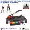 Heavy Duty Nut Rivet Riveter Rivnut Nutsert Gun Riveting Kit M3-12 Cr-Mo Mandrel
