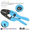 10 - 35 mm2 Ratchet Ferrule Bootlace Crimper Crimping Tool Crimp Pliers