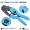 1 - 10 mm2 Ratchet Ferrule Bootlace Crimper Crimping Tool Crimp Pliers