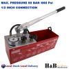 Pressure Testing Pump Bucket Plumbers Hydraulic Test Pump Max. 60 BAR 1/2