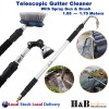 Telescopic Gutter Cleaner Cleaning Tool Wand Car Washer Brush First 10 Big Sale!