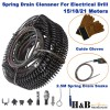 Spring Drain Cleaner Cleaning Snake Plumbing Tools STD Spirals 15/18/21 Meters