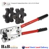 6 - 50 mm2 Anderson Plug Crimp Crimping Tool Indent Mark Cable Lug Hex Crimper