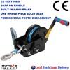 2500 LBS Hand Winch Snap On Handle Stailess Steel Hook Dyneema Rope Taiwan Made