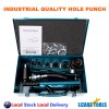 Industrial Quality Hydraulic Punch Driver Knockout Hole Puncher Tested 10 Ton