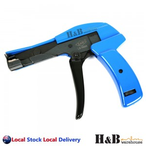 Heavy Duty Cable Tie Gun Automatic Tension Cut Off Width 2.4mm to 4.8mm