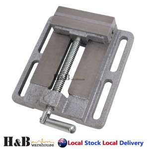 "4"" 100mm Professional Drill Press Vice Bench Vise Clamp Die Cast Iron"