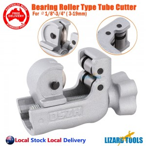 "Genuine Ball Bearing Tube Pipe Cutter 3-19mm 1/8- 3/4"" Alloy Steel Blade"