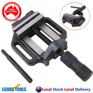 "3"" 75mm Professional Cast Iron Drill Press Vice Bench Vise Clamp Precision"
