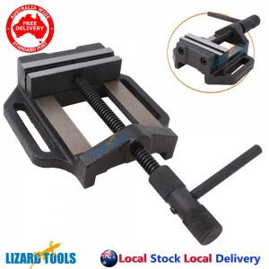 """5"""" 125mm Professional Cast Iron Drill Press Vice Bench Vise Clamp"""