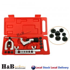 7Dies Double Flaring Tube Flare Tool Kit Brake Lines Air Conditioning