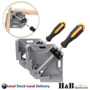 Heavy Duty 2X Right Angle Corner Clamp Welding Vice Picture Frame Woodworking
