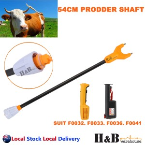 54cm Stock Cattle Prodder Shaft Rigid Fibreglass Shaft Wand Replacement