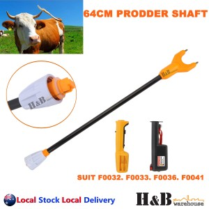 64cm Stock Cattle Prodder Shaft Rigid Fibreglass Shaft Wand Replacement