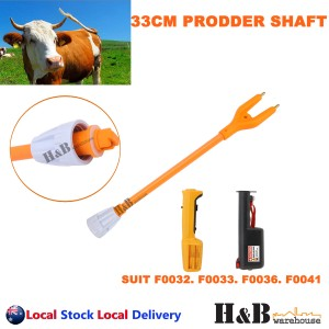 33cm Stock Cattle Prodder Shaft Flexible Polycarbonate Shaft Wand Replacement