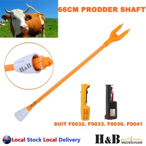 66cm Stock Cattle Prodder Shaft Flexible Polycarbonate Shaft Wand Replacement