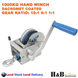 1000KG Hand Winch Dyneema Rope 6mm X 10M Winch Rope Marine Boat Trailer