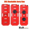Heavy Duty 20L Liter Jerry Can Fuel Petrol Container Holder 4WD Off Road