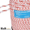 4mm Electric Fence Rope Poly Rope Polywire Stainless Steel Polyrope 4mm x 500M
