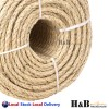 6mm x 100M Sisal Rope Natural Fiber Prime Quality Biodegradable 3 Strands