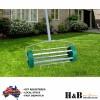 Rolling Lawn Scarifier Aerator Roller Spike Tool Rolling Garden Yard Grass