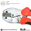 0.5 - 4 mm2 Ratchet Ferrule Bootlace Crimper Crimping Tool Crimp Pliers