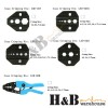 7pcs RG58 RG59 RG6 RG11 BNC TNC Coax Hex CCTV Cable Crimping Plier Crimper