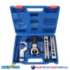 Genuine Ratchet Flaring Flare Tool Kit 45° R410A Refrigeration Eccentric Cone