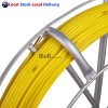 Pro 4.5mm 100M Telstra NBN Fiberglass Cable Fish Snake Rodder Puller Flex Lead
