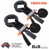 2x 4M Rapid Corner Clamp Band Strap Miter Clamps Vice Picture Frame Woodworking