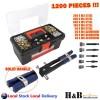 1200 Pcs Rivnut Rivet Nut Nuts Gun M3 to M8 Rivnuts Nutsert Tool Kit Set
