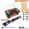 800 Pcs Rivnut Rivet Nut Nuts Gun M3 to M8 Rivnuts Nutsert Tool Kit Set