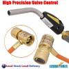 Mapp Gas Torch Auto Ignition Propane Welding Plumbing Brazing 1.4 MTR Hose