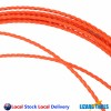 15M 5mm Cable Push Puller Rodder Conduit Snake Fish Tape Tested 400KG Taiwan