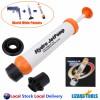 Hydrojet Pump Manual Drain Cleaner Plumbing Sink Pipe Toilet Basin Unblocker