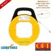3.8mm x 45M Taiwan OPT Fiberglass Cable Snake Conduit Rods Duct Cavity