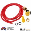 Drain Cleaning Cleaner Tools Nozzle With Hose 1 Jet forward 9 Jets sideway 2.5M