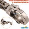 Mechanical Plumbing Crimping Press Tools PEX Pipe Crimp Crimper 16 20 25 32 mm