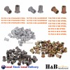 1010 Pcs Rivnut Nuserts Tool Kit Rivet Nut Assortment Riveter Gun M3 - M12 SALE