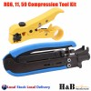 Telstra NBN HFC RG6 Torque Wrench PCD Key Cable Caddy Compression Tools
