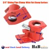 Multi Choice Gluing pipe clamp Wood working Vice Tools 1/2 3/4 PSB Wide Surface