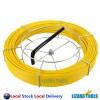4.5 X 60M NBN Fiberglass Cable Snake Rodder Fish Tape Push Puller W/Repair Kit