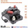 120A AMP Circuit Breaker Dual Battery IP67 Waterproof 12V 24V Fuse Reset