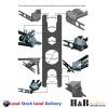 1360 pcs Nutserts Tool Kit Rivnut Stainless Steel Rivets Nut Gun M3-12 Mandrels